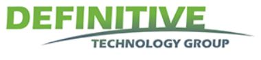 Logo for Definitive Technology Group